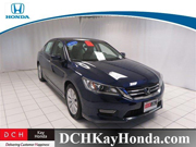 Contact Ray Furslew for Assistance with this 2013 Honda Accord EX-L Sedan Special at DCH Kay Honda