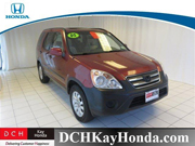 Contact Ray Furslew for Assistance with this 2005 Honda CR-V EX Special at DCH Kay Honda